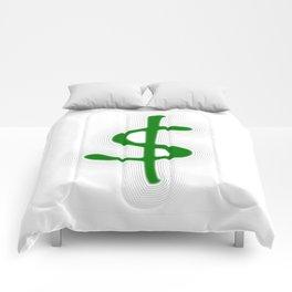 Shrinking Dollar Comforters