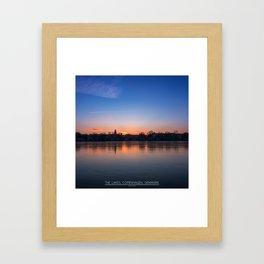 The Lakes, Copenhagen Framed Art Print