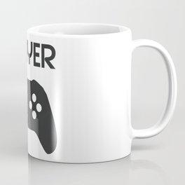 Player Text and Gamepad Coffee Mug