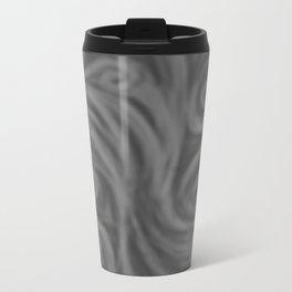Dark Gray Swirl Metal Travel Mug