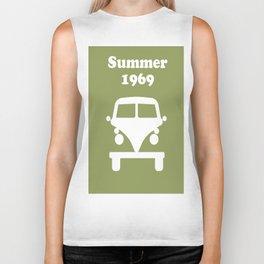 Summer 1969 - Green Biker Tank