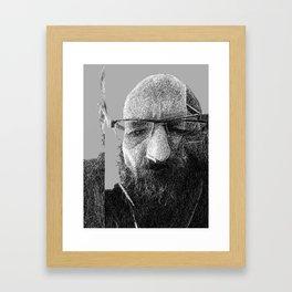 Untitled sketch 123115 Framed Art Print