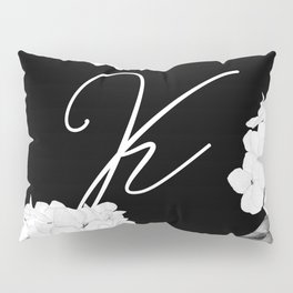 "Letter ""K"" Monogram Pillow Sham"