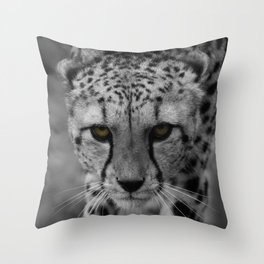 Stalking Cheetah Throw Pillow