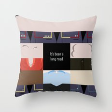 It's been a long road - square - Star Trek: Enterprise ENT - startrek Trektangle minimalist  Throw Pillow