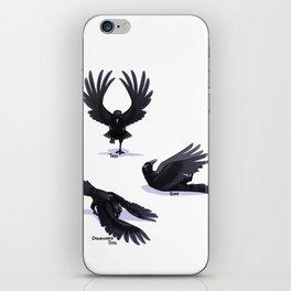 Yoga Raven iPhone Skin