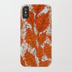 Happy autumn II Slim Case iPhone X