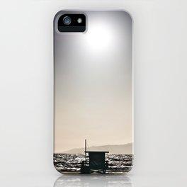Venice Beach California Guard Tower iPhone Case