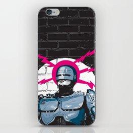 Robocop In Love iPhone Skin