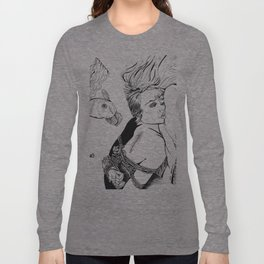 Kinbaku Shibari Long Sleeve T-shirt
