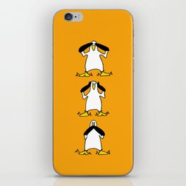 3 Wise Albatrosses iPhone Skin