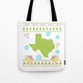 Texas Christmas Ugly Shirt Tote Bag