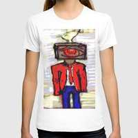 suit T-shirts featuring Suit by Keith Cameron