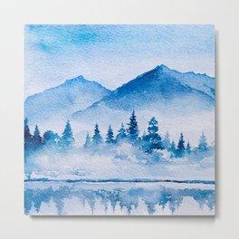 Winter scenery #15 Metal Print