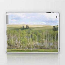 Lake and trees landscape Laptop & iPad Skin