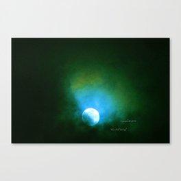 """""""Suspension Moon #64"""" Canvas Print"""