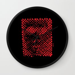 The Face of God Wall Clock