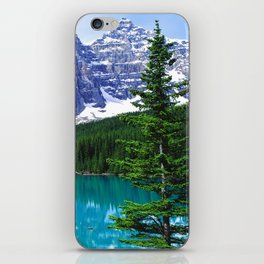 Canadian Wonder: Moraine Lake iPhone Skin