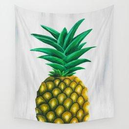 Pineapple Pandemonium Wall Tapestry