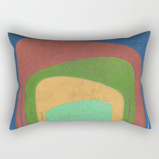 A Elephants Stack Rectangular Pillow