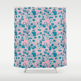 Baby lifter Shower Curtain