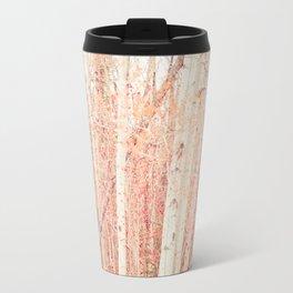 White Birch Trees Travel Mug
