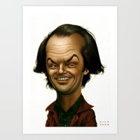 jack Art Prints featuring Jack by Nicolas Villeminot