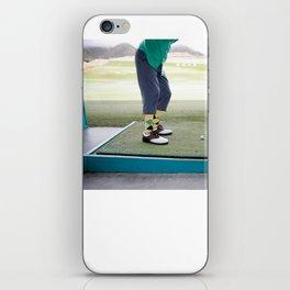 Golf Swing iPhone Skin