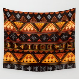 Modern Native American Pattern Wall Tapestry