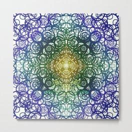 Symmetry 5: Jungle Metal Print