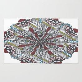 Key Largo Mandala Rug