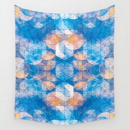 Cuben Kaleidoscope Wall Tapestry