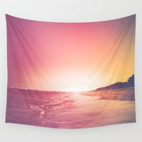summer Wall Tapestries featuring Summer by HappyMelvin