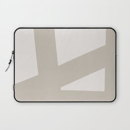 Neutral Abstract 3B Laptop Sleeve