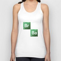 chemistry Tank Tops featuring BrBa chemistry by Nxolab
