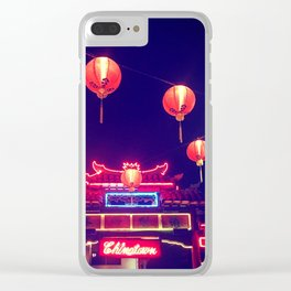 Down to Chinatown Clear iPhone Case