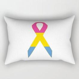 Pansexual Ribbon Rectangular Pillow