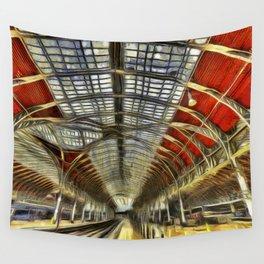 Paddington Station Art Wall Tapestry