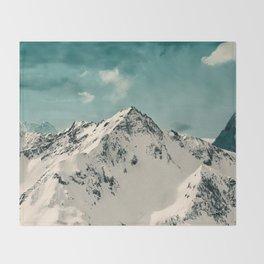 Snow Peak Throw Blanket
