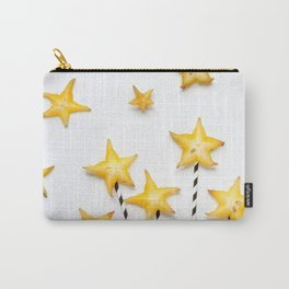 Bursting Starfruit Carry-All Pouch