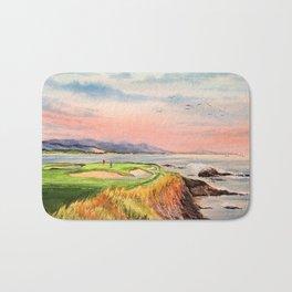 Pebble Beach Golf Course Hole 7 Bath Mat