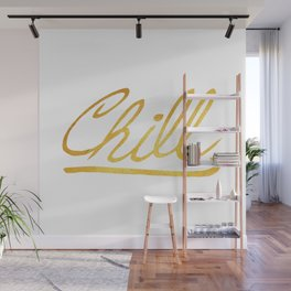 Gold Chill Wall Mural