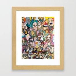 IT'S A MESS! Framed Art Print