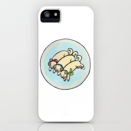Snug as a Pug on a Rug iPhone Case