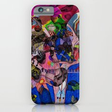 Little bitty bits of time floating freely in the mind Slim Case iPhone 6s
