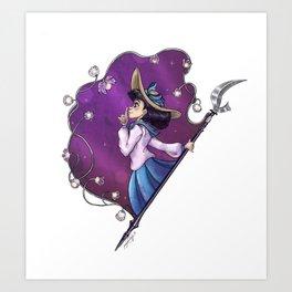 Prism Portrait: Sailor Saturn Art Print