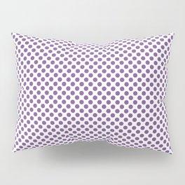 Royal Lilac Polka Dots Pillow Sham