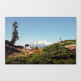 Visions of Mt Shasta Canvas Print
