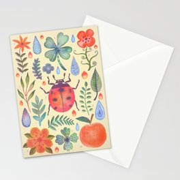 Et coloris natura II Stationery Cards
