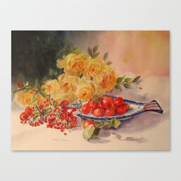 One berry or two Canvas Print